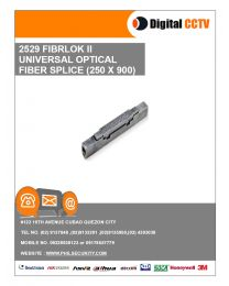 2529 Universal Optical Fiber Splice (250x900)