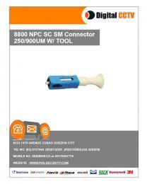8800 NPC SC SM Connector 250/900UM w/ Tool