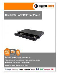 Blank FDU w/ 24P Front Panel