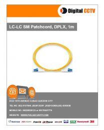 LC-LC SM Patchcord, DPLX, 1m