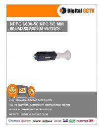 6800-50 NPFG NPC SC MM 50UM Connector 250/900UM w/ Tool