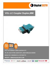 LC Coupler Duplex, MM