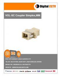 SC Coupler Simplex, MM