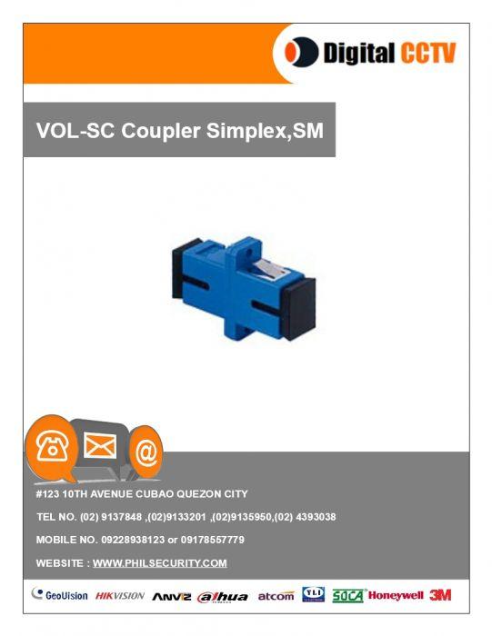 SC Coupler Simplex, SM - Digital CCTV Philippines