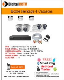 Home Package Hikvision 2 indoor 2 Outdoor