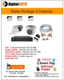 Home Package Hikvision 1 indoor 1 Outdoor